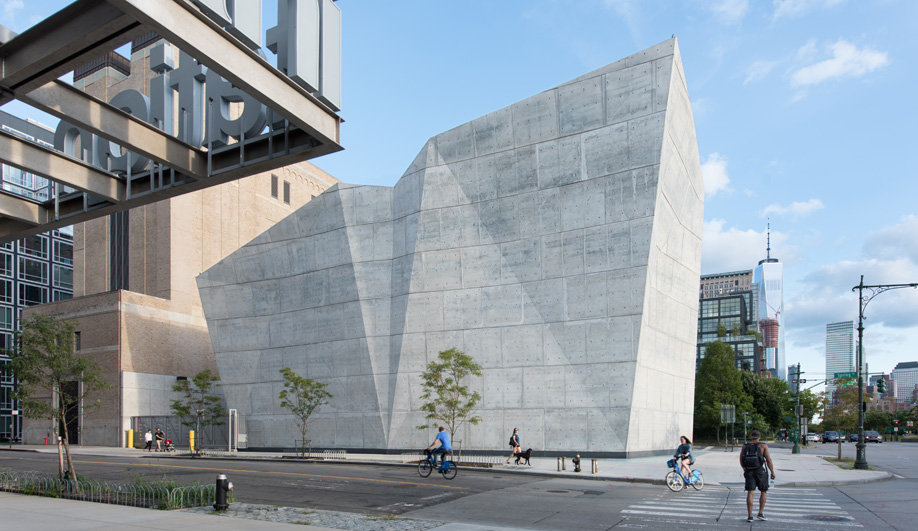 Spring Street Salt Shed, by Dattner Architects and WXY's Claire Weisz