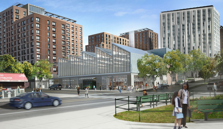 WXY's Hunts point project