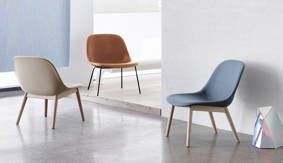 Fiber Lounge Chair by Muuto