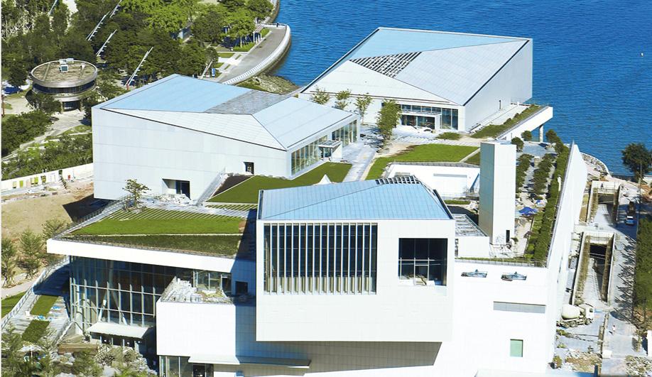 Fumihiko Maki's Sea World Culture and Arts Center in Shenzhen