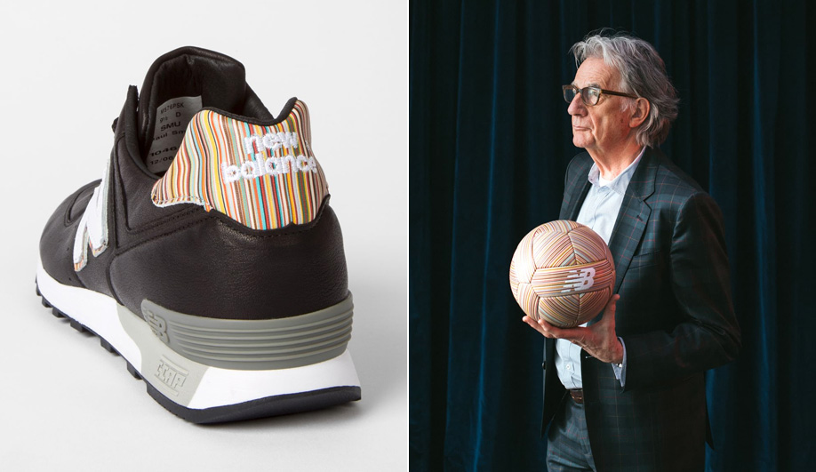 Candy striped design: Paul Smith