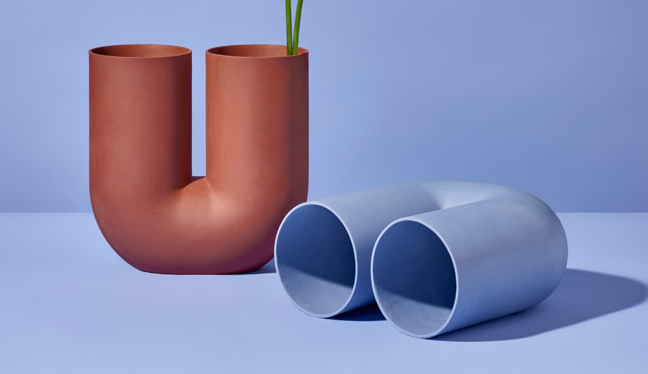 Colony furniture gallery: Earnest Studio's Kink vase