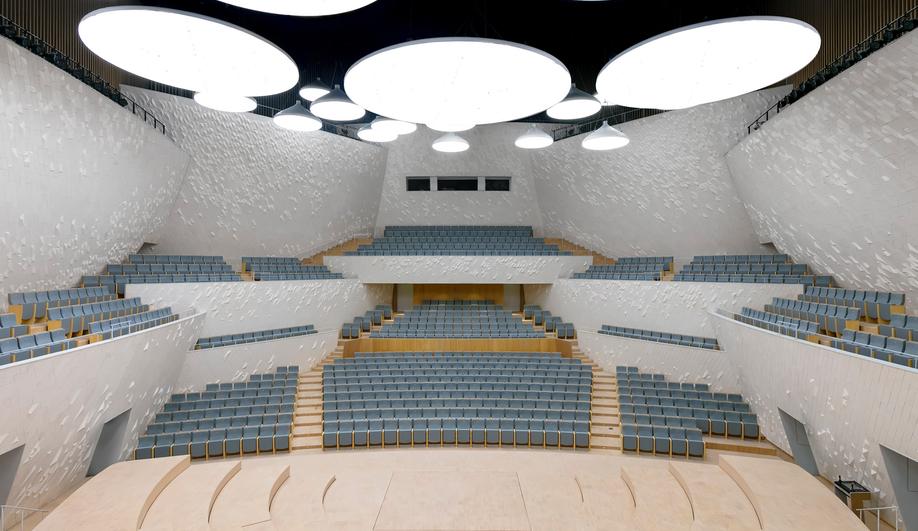 Fuzhou Strait Culture and Art Centre's Concert Hall