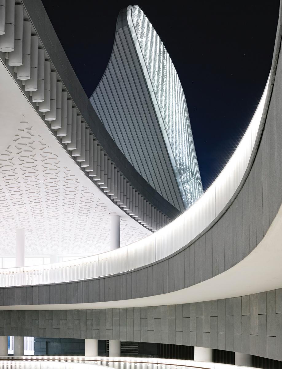 Fuzhou Strait Culture and Art Centre's pre-patinated zinc roof