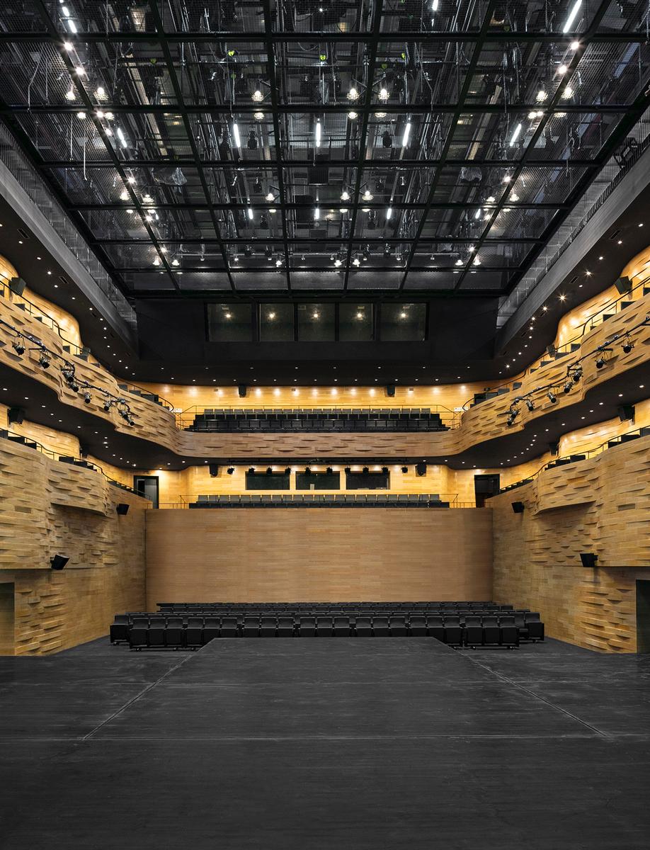 Fuzhou Strait Culture and Art Centre's Multifunctional Theatre
