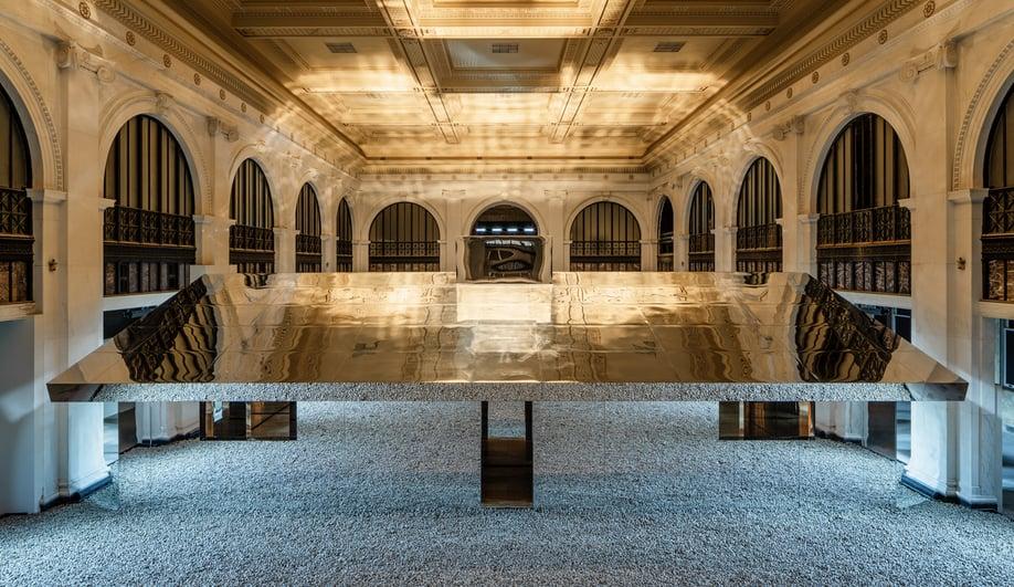 Doug Aitken's Mirage Detroit is a Living Pavilion in a Restored Bank