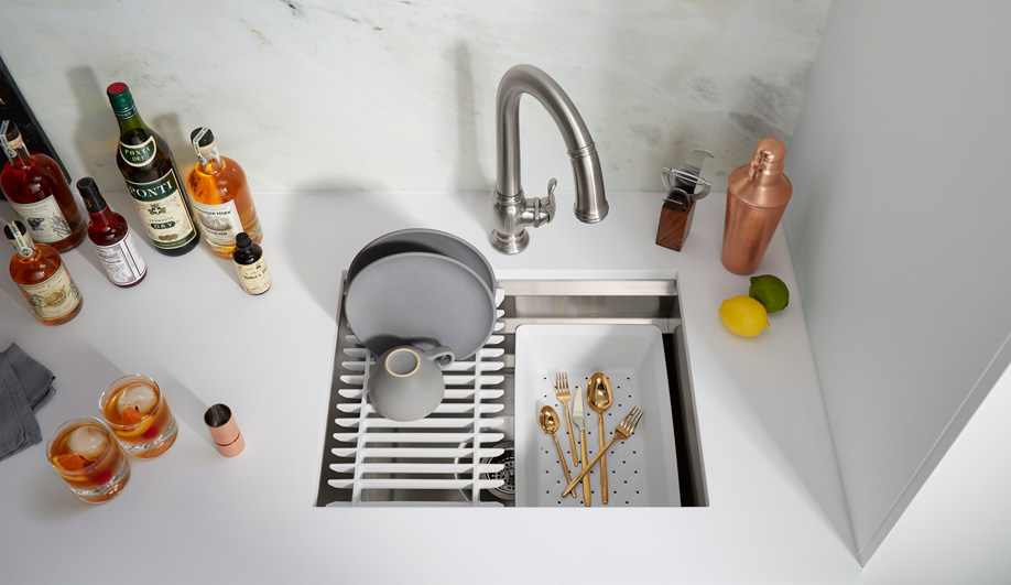 Contemporary Kitchen Sinks: Prolific by Kohler