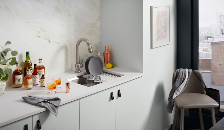 5 Contemporary Kitchen Sinks That Provide Not-So-Basic Basins