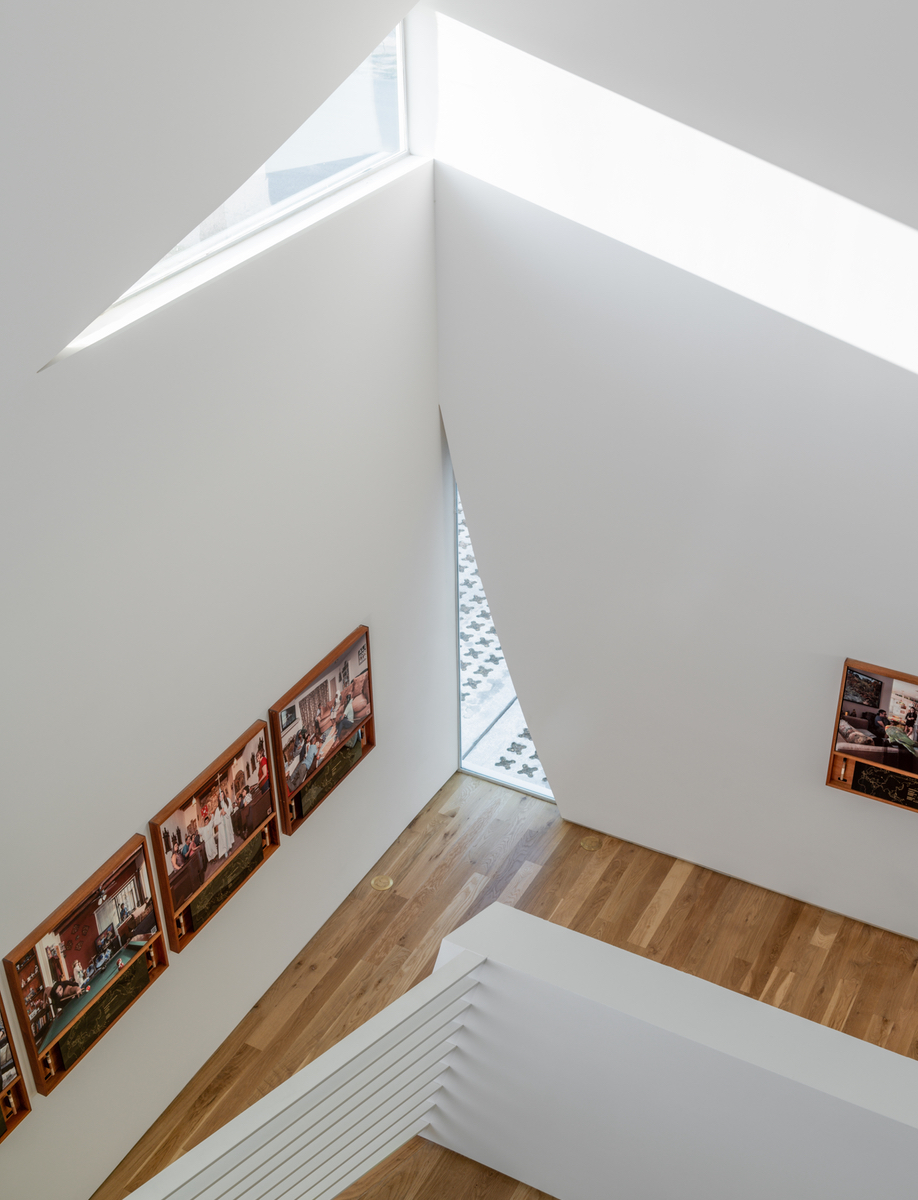 The interiors of Houston's Transart Foundation for Art and Anthropology