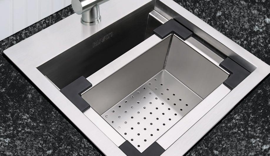 Contemporary Kitchen Sinks: Workstation by Ruvati