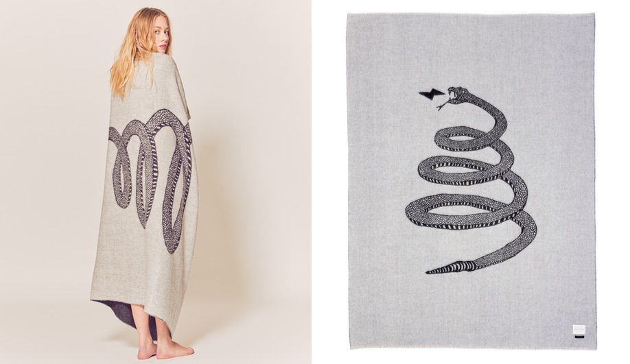 Gifts for designers: Peyote throw by Blacksaw
