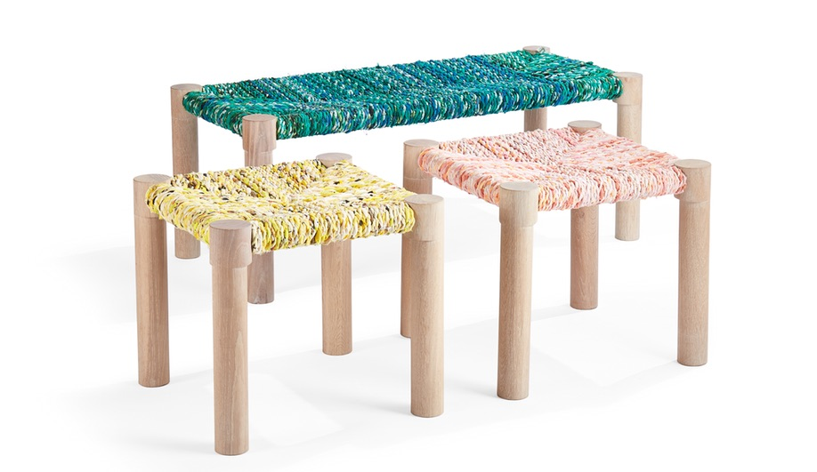 Gifts for designers: Marrakesh bench by Coolican & Company and Calla