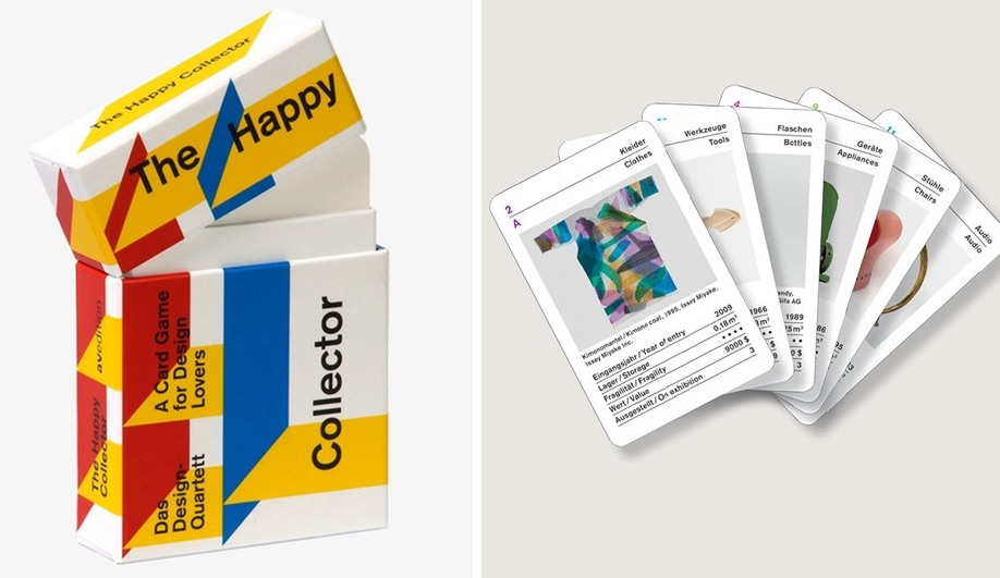 Gifts for designers: Happy Collector card set by Avedition