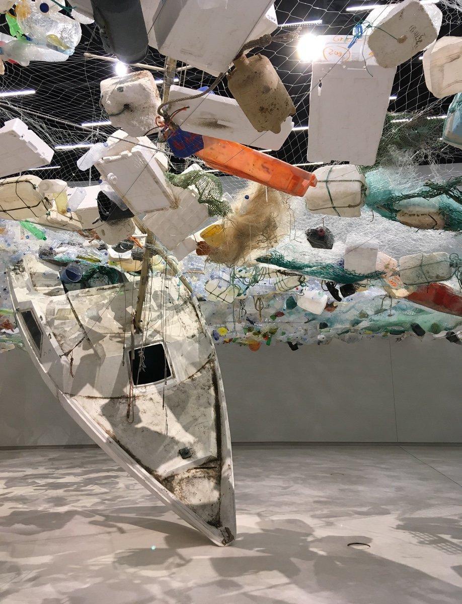 Over Flow, Tadashi Kawamata's MAAT Art Installation