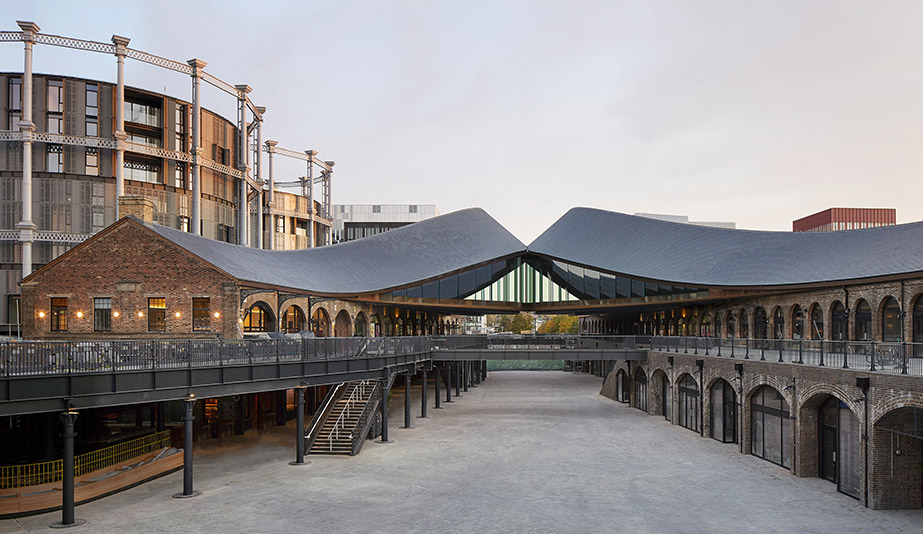 Heatherwick Studio Transforms Two Warehouses Into a Shopping District