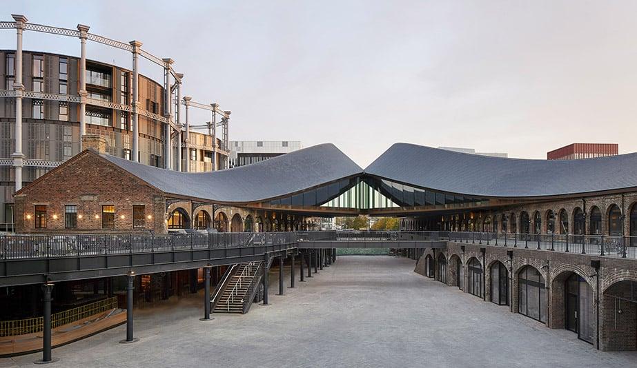 Heatherwick Studio Transforms Two Warehouses Into a Shopping District
