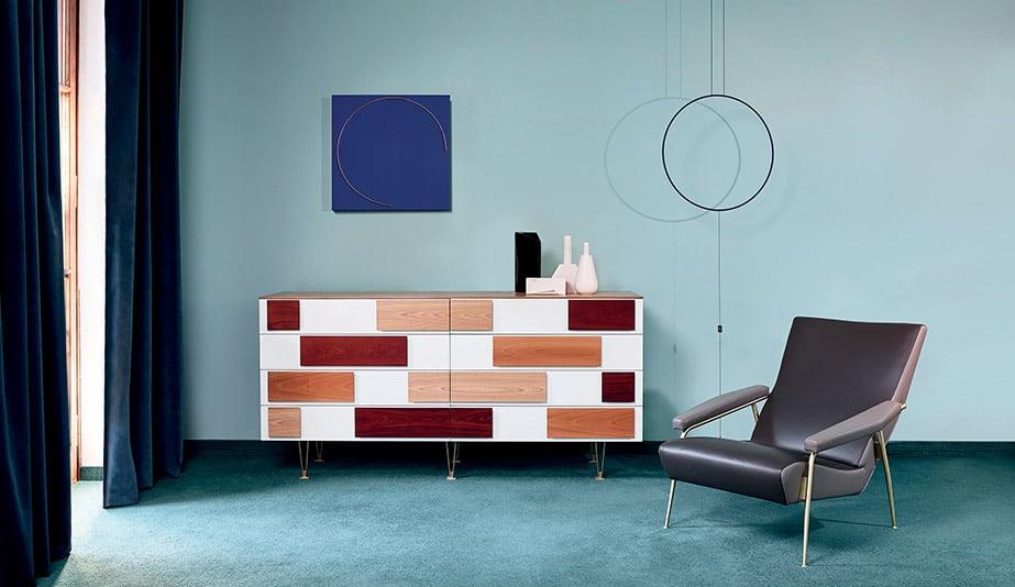 Tutti Ponti: Gio Ponti, Arch-Designer: D.655.1/D.655.2 chest of drawers