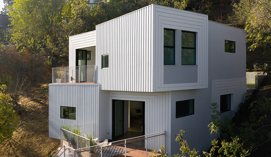 In L.A., FreelandBuck Puts a Subtle Spin On Vertical Living With Stack House