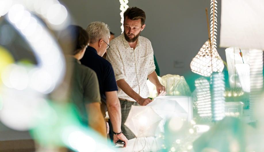 Designer Bertjan Pot discusses his lighting at Museum Boijmans Van Beuningen