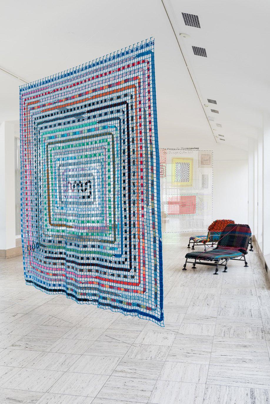 Designer Bertjan Pot makes eye-popping tapestries.