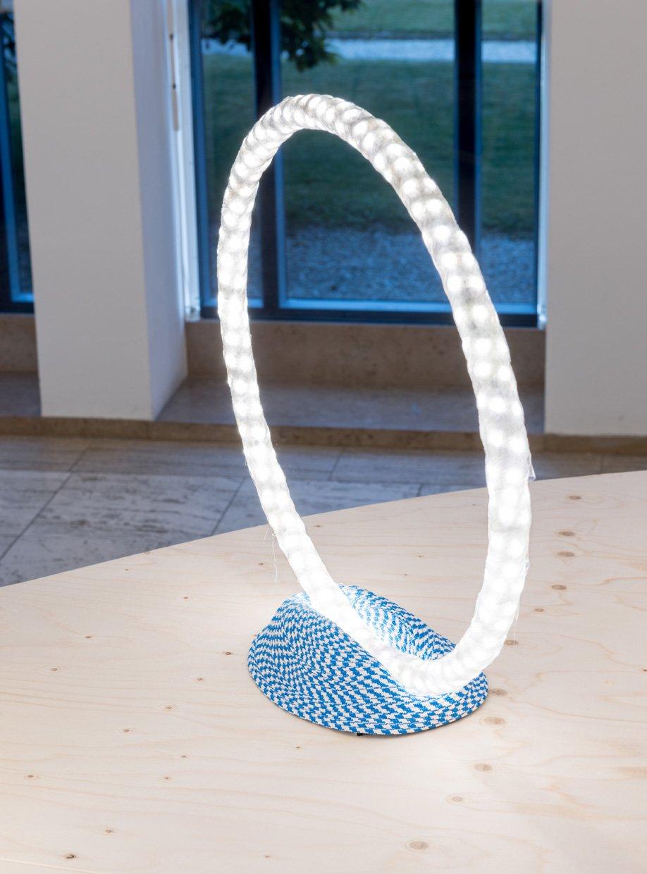Designer Bertjan Pot's experimental lamp.
