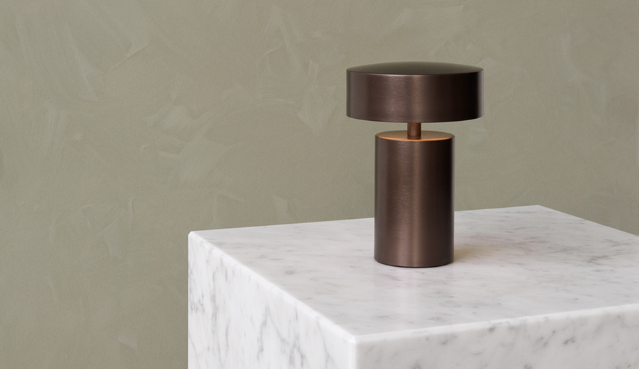 Column Table Lamp by Menu