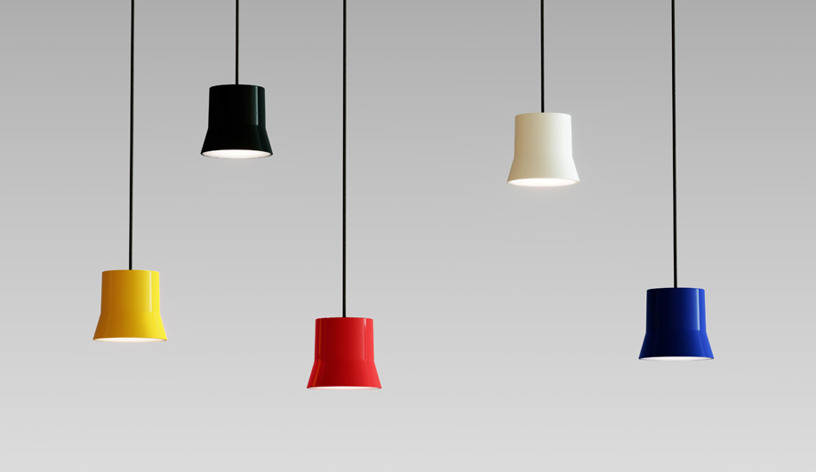Clustered pendant lights: Gio by Artemide