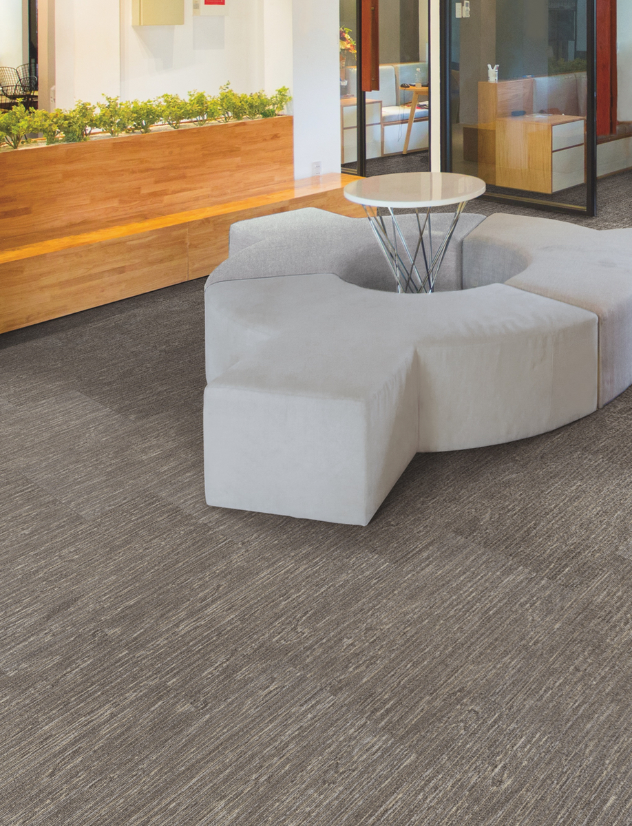 SineEffect Carpet Tiles by Tandus Centiva