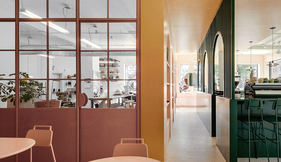The 10 Best Interiors of 2018: Pastel Rita by Appareil Architecture