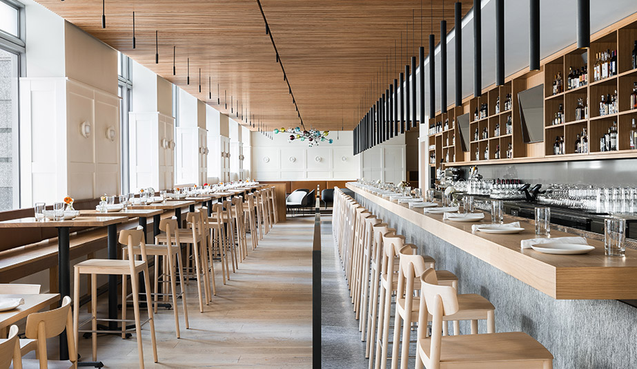 Heliotrope Architects Crafts a Refined Space for Seattle Eatery Cortina