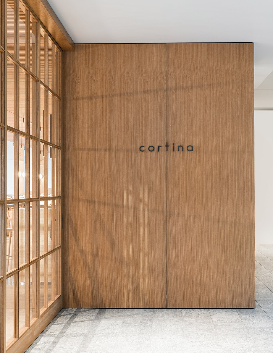 Seattle restaurant Cortina, designed by Heliotrope Architects