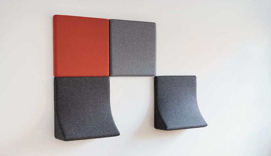Landing Acoustic Panels by Wilkhahn