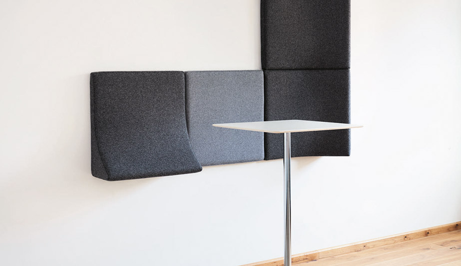 Landing Acoustic Panels by Wilkhahn