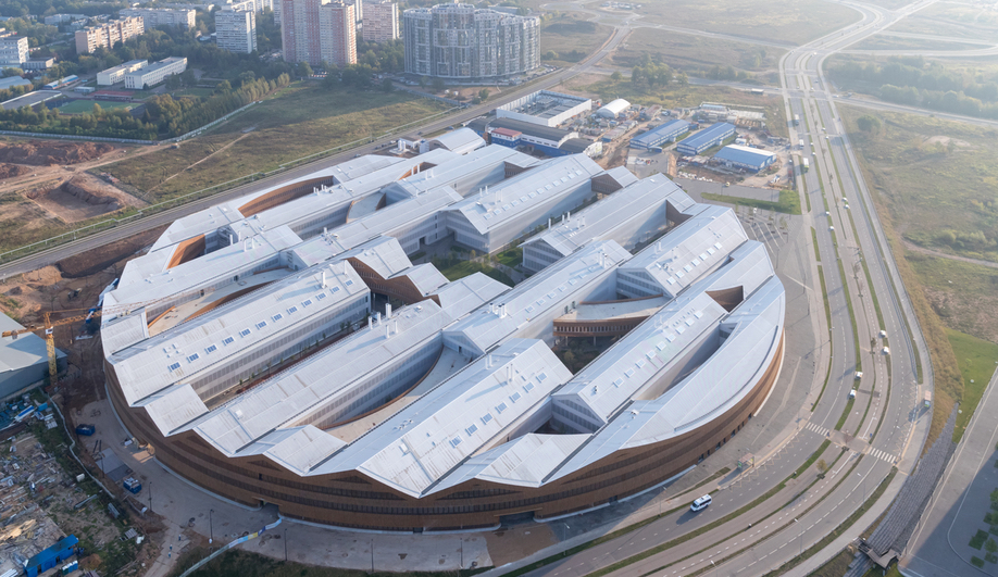 The Best Buildings of 2018: Skolkovo Institute of Science and Technology
