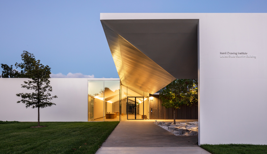 The Best Buildings of 2018: Menil Drawing Institute