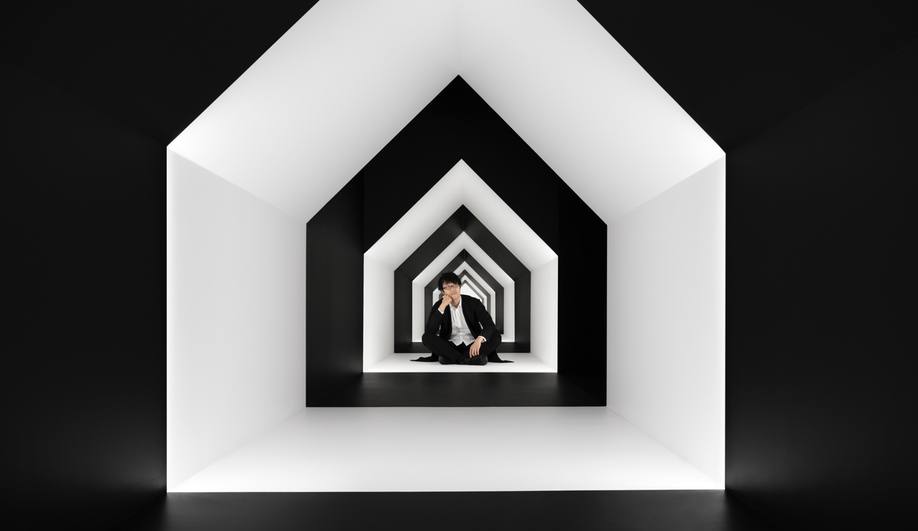 Nendo Meets M.C. Escher in Between Two Worlds