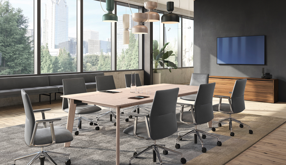 Keilhauer is Bringing Warmth and Wood into the Office