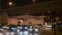 1024 Architecture Illuminates Paris's Underpasses
