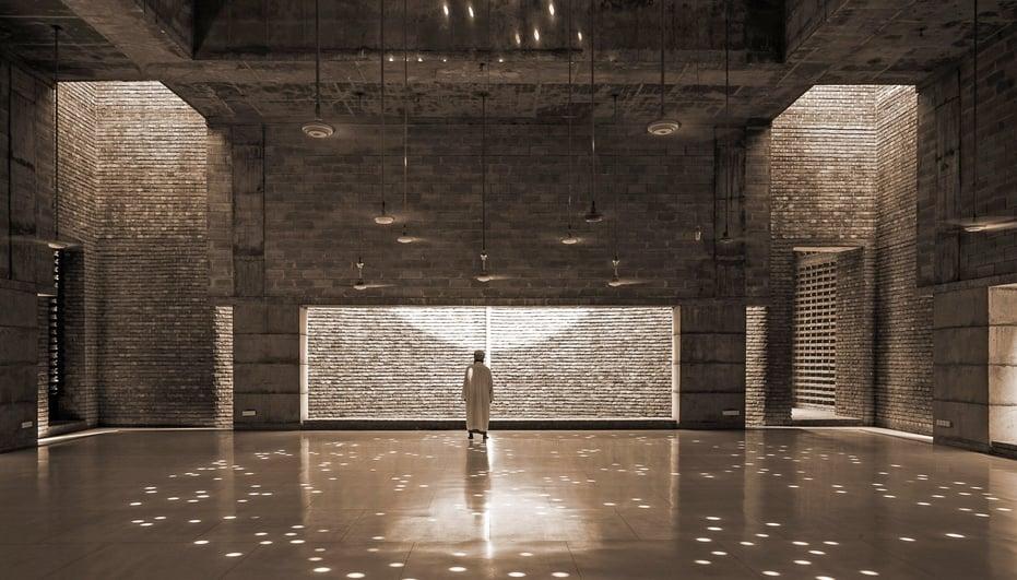 Inside the Bait Ur Rouf Mosque