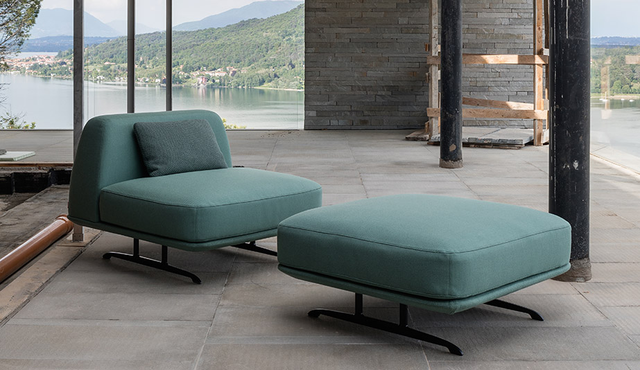 Trays Seating by Baleri Italia
