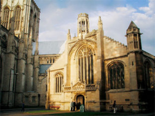 Contemporary Reordering of St Michael le Belfrey York