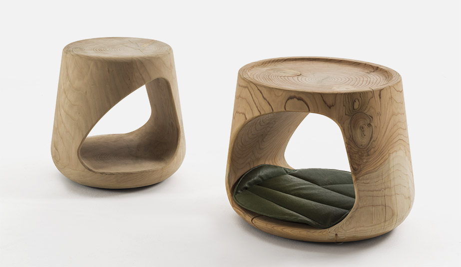 Geppo Stool by Riva 1920