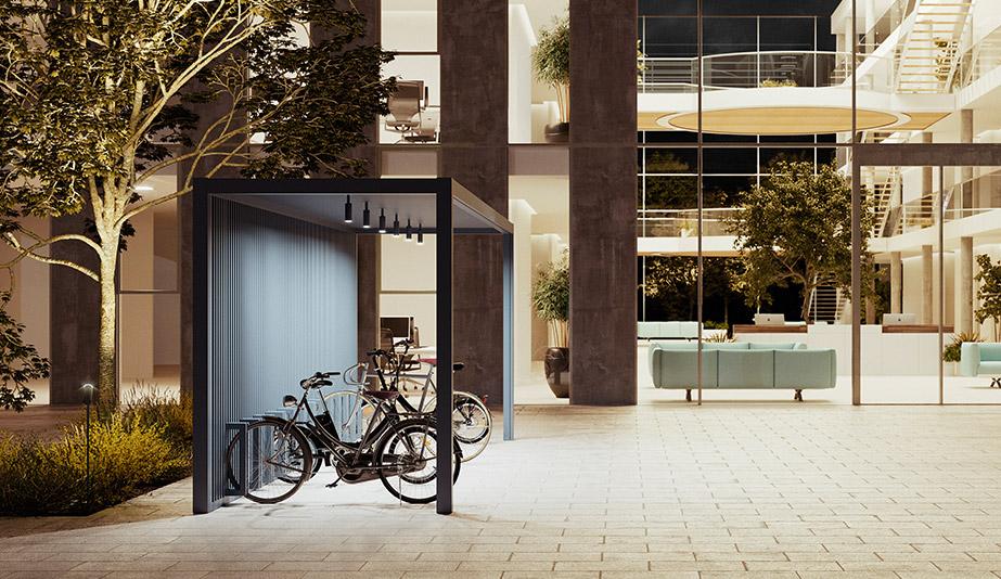 Bike Parking Pavilion by Kettal