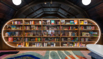 In the Bronx, MKCA Carves Out a Cozy Kids' Library with Colour and Light
