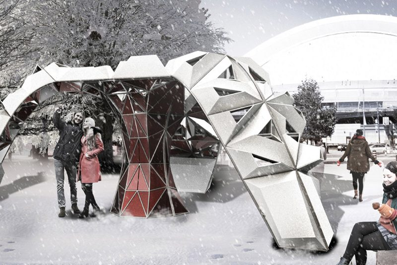 5 Immersive Outdoor Installations at Toronto's Ice Breakers 2019