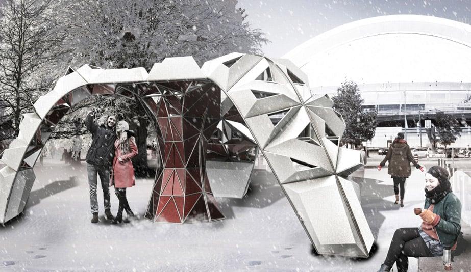 5 Immersive Outdoor Installations At Toronto S Ice Breakers 2019