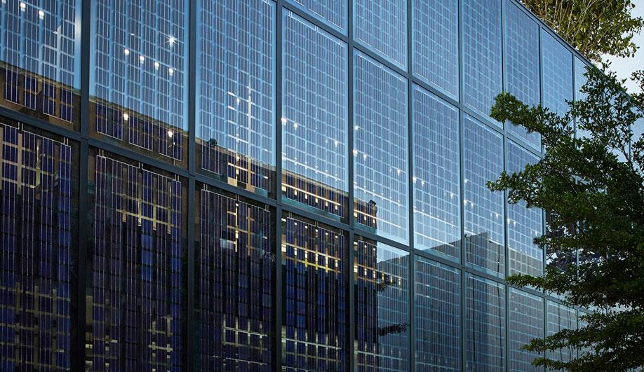 Amorphous Silicon PV Glass by Onyx Solar