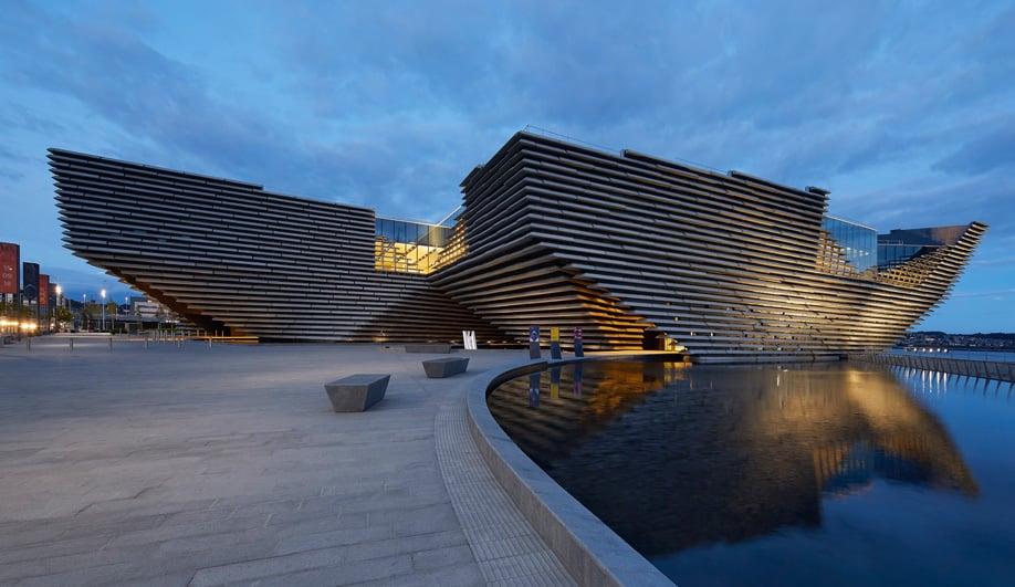 Kengo Kuma's V&A Dundee Celebrates Scotland's Rocky Cliffs