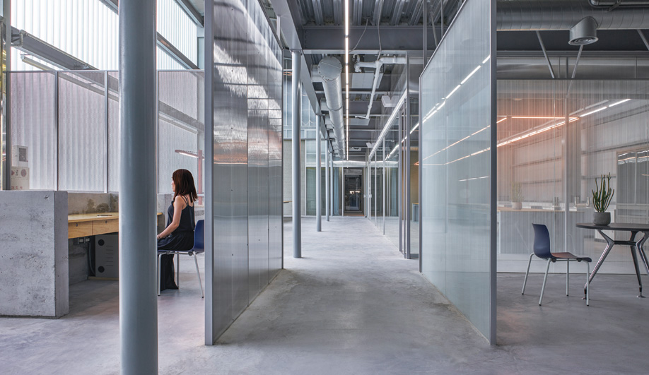 From Cavernous Warehouse to Light-Filled HQ