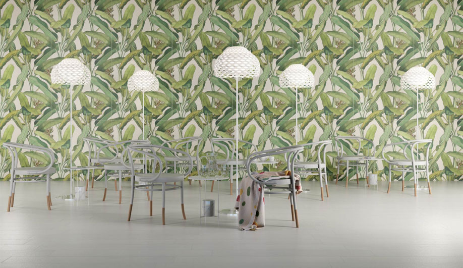 5 Large-Format Tiles with Big, Botanical Motifs